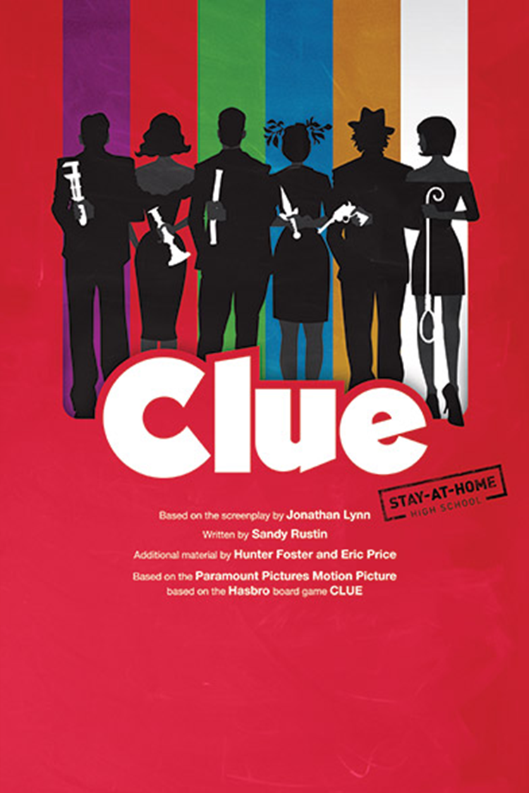 Clue (High School Edition): Stay-At-Home Version