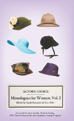 Actor's Choice: Monologues for Women, Volume 2