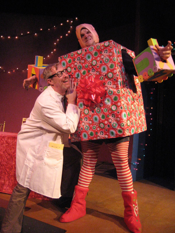 Dr. Frankincense and the Christmas Monster