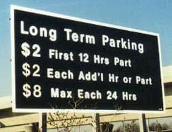 Long Term Parking