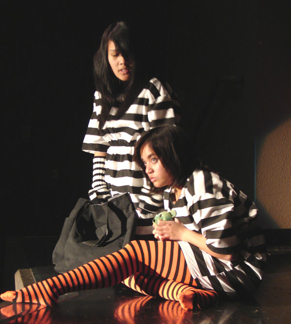 Miss Polly's Institute for Criminally Damaged Young Ladies Puts on a Show