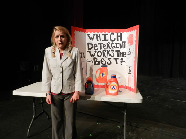 Regina Flector Wins the Science Fair