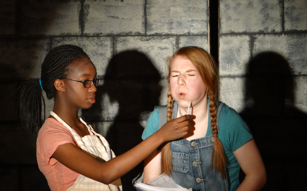 Willa Wonkie and the College Tour (Chocolate Not Included): one-act version