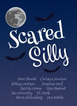 """Scared Silly: 10 Hauntingly Hilarious Short Plays"" by Peter Bloedel, Christa Crewdson, Hillary DePiano, Jonathan Dorf, Patrick Greene, Alan Haehnel, Ian McWethy, Ed Monk, Becca Schlossberg, Don Zolidis"